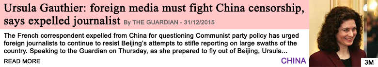 Society ursula gauthier foreign media must fight china censorship says expelled journalist