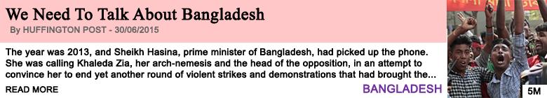 Society we need to talk about bangladesh