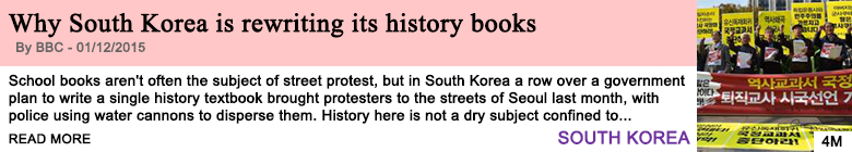 Society why south korea is rewriting its history books