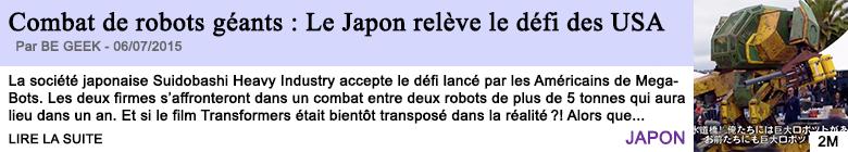 Tech internet combat de robots geants le japon releve le defi des usa