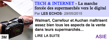 Tech internet la marche forcee des supermarches vers le digital