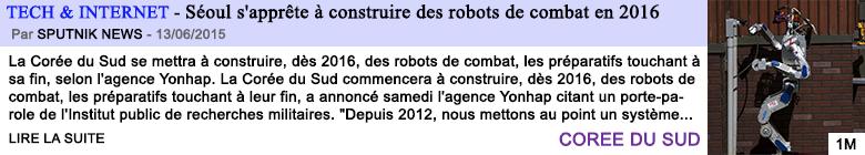Tech internet seoul s apprete a construire des robots de combat en 2016