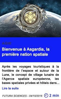 Technologie asie bienvenue a asgardia la premiere nation spatiale