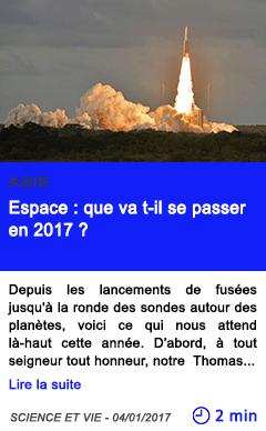 Technologie asie espace que va t il se passer en 2017