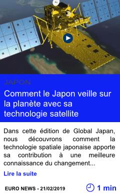 Technologie comment le japon veille sur la planete avec sa technologie satellite page001