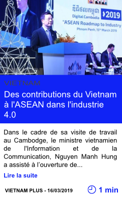 Technologie des contributions du vietnam a l asean dans l industrie 4 0 page001