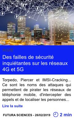 Technologie des failles de securite inquietantes sur les reseaux 4g et 5g page001