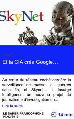 Technologie et la cia crea google page001