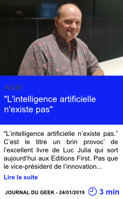 Technologie l intelligence artificielle n existe pas page001
