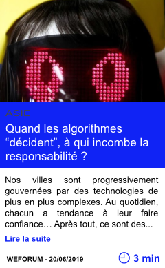 Technologie quand les algorithmes decident a qui incombe la responsabilite page001