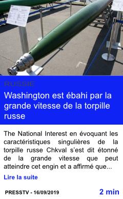 Technologie washington est ebahi par la grande vitesse de la torpille russe page001