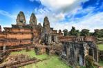 Temple angkor visiteur touriste