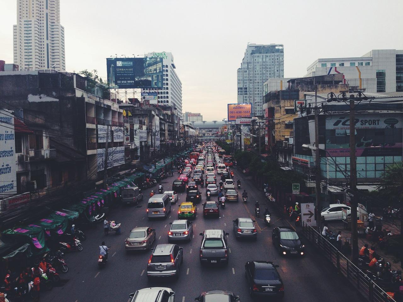 trafic phnom penh